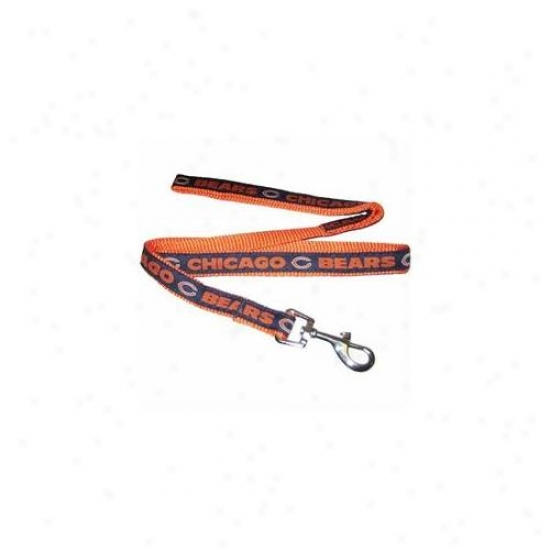 Pets First Cbl-l Chicago Bears Nfl Dog Leash - Large