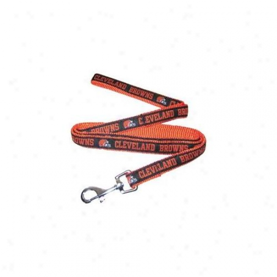 Pets First Clbl-l Cleveland Browns Nfp Dog Leash - Large