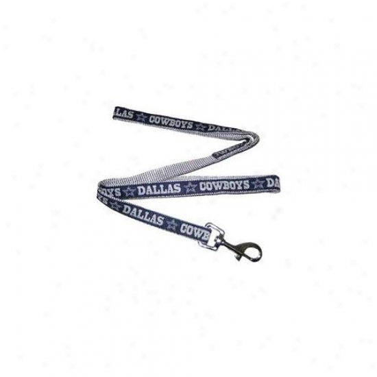 Pets First Dcl-l Dallas Cowboys Nfl Dog Leash - Large