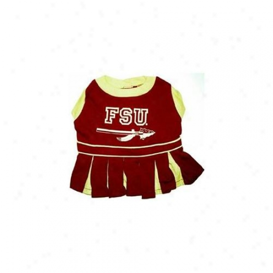 Pets First Fsucloxs Florida State Seminples Cheer Leading Xs
