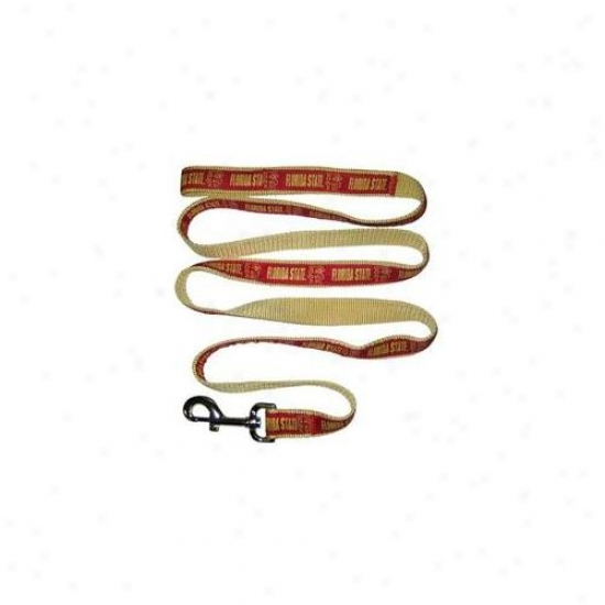 Pets First Fsul-l Florida State Seminoles Leash Large