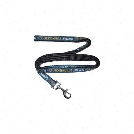 Pets First Jjl-l Jacksonville Jaguars Nfl Dog Leash - Large