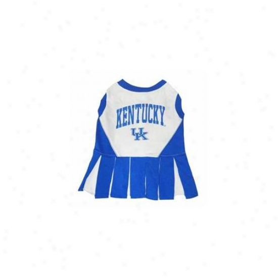 Pets First Kclo-xs Kentucky Wildcats Cheer Leading Xs