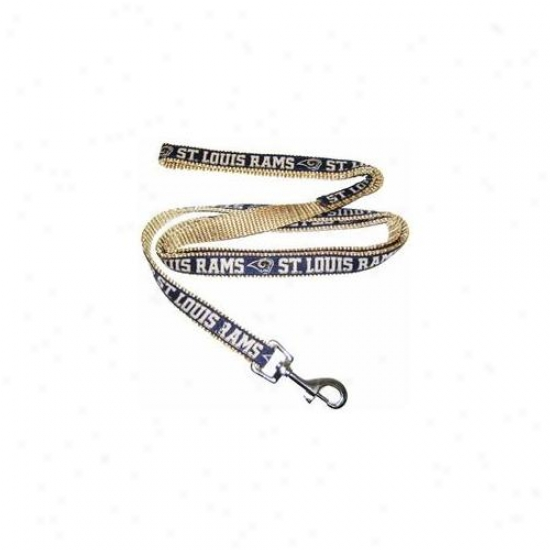 Pets First Slrl-lS t.  Louis Rams Nfl Dog Leash - Large