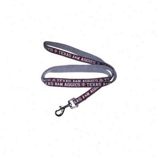 Pets First Tal-l Texas A&m Aggies Leash Large