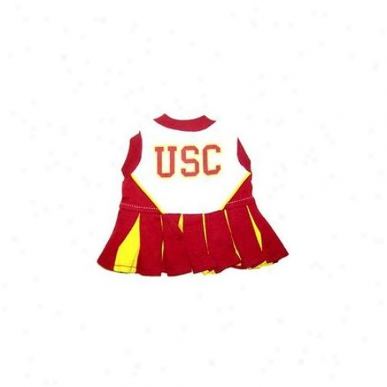 Pets First Uscclo-xs Usc Trojans Cheed Leading Xs