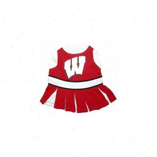 Pets First Wbclo-m Wisconsin Badgers Cheer Leading Md