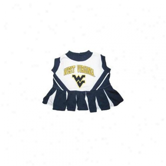 Pets First Wvclo-xs West Virginia University Cheer Leading Xs