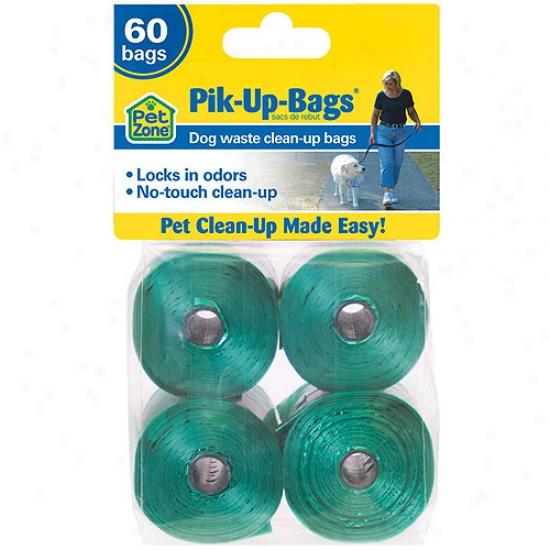Petzone Pik-up Bags, 60ct