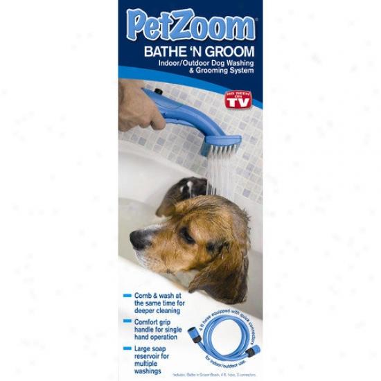 Petzoom Bathe N' Groom Pet Washrr