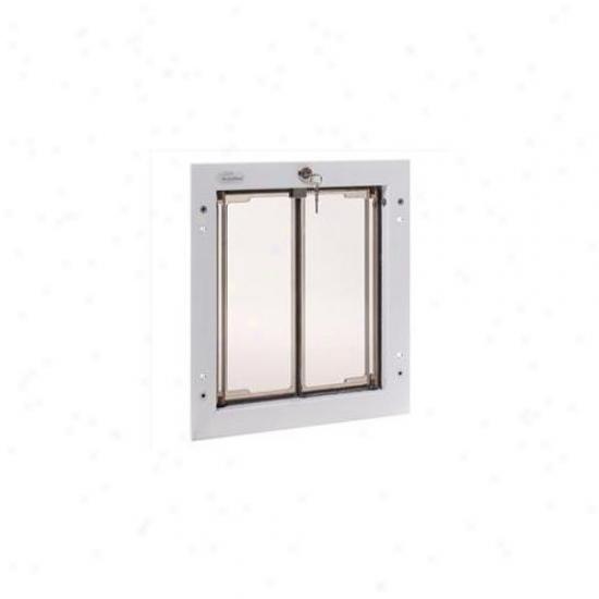 Plexidor Performance Pet Doors Pd Door Md Wh Medium Dog Door Mount - White