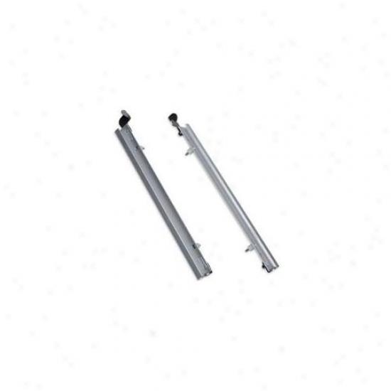 Plexidor Performacne Pet Doors Pd Sld Trk Md Sv Medium Sliding Track With Flip Lock - Silver