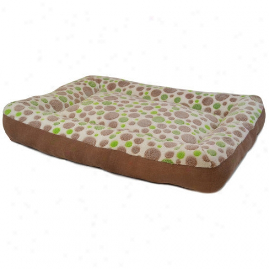 Ptecision Pet Products Cute As A Button Low Bumper Dog Mat