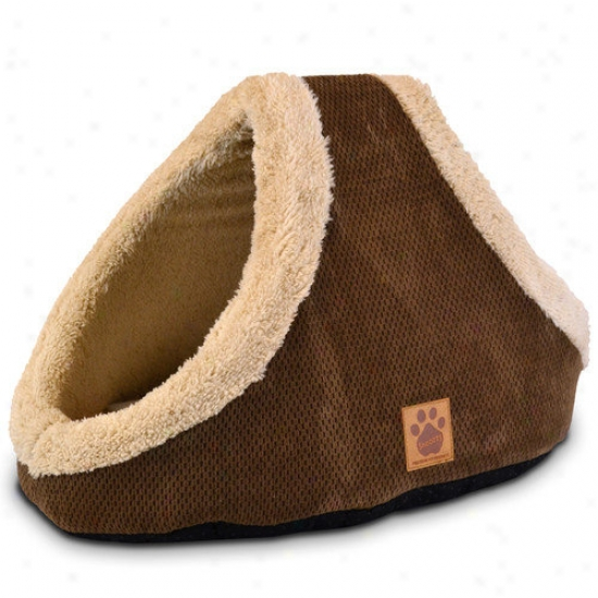 Precision Pet Products Natural Surroundings Shelter And Seek Dome Dog Bed