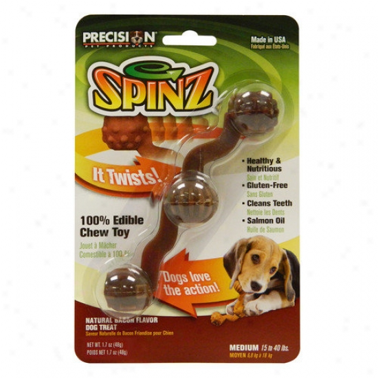 Precisioh Pet Products Spinz Medium Dog Treat (set Of 3)