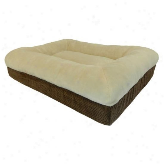Preicsion Pets Pillow Top Orthopedic Bed - Chocolate