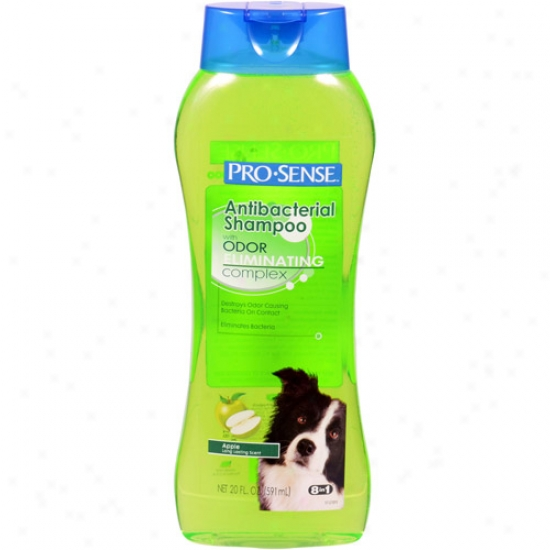 Pro-ssense Antibacterial Apple Sceng Dog Shampoo With Odor-eliminating Complex, 20 Oz