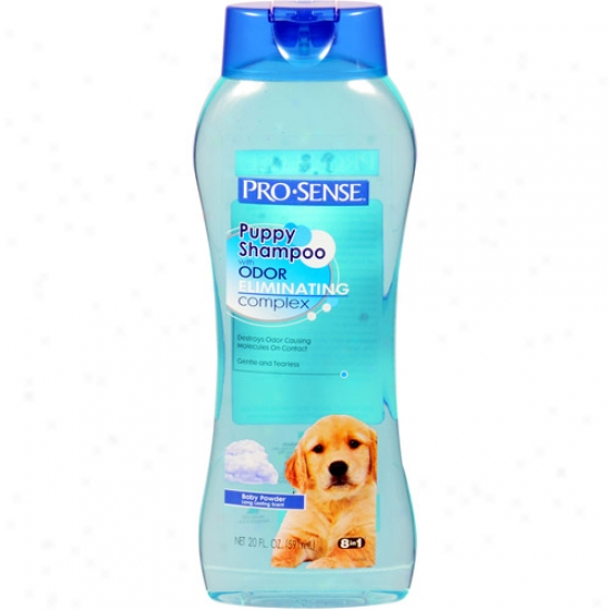 Pro-sense Baby Dust Scent Puppy Shampoo With Odor-eliminating Complicated, 20 Oz