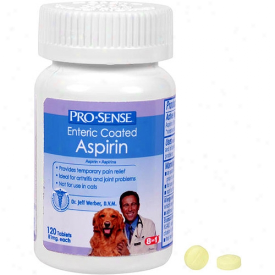 Prosense Dog Enteric Coated Aspirin, 120 Tablets