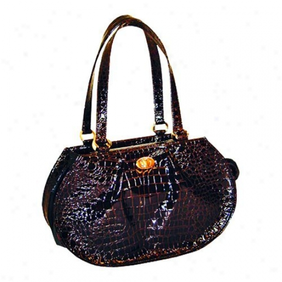 Puchibag Martini Chocolate Croc Fondle Carrier