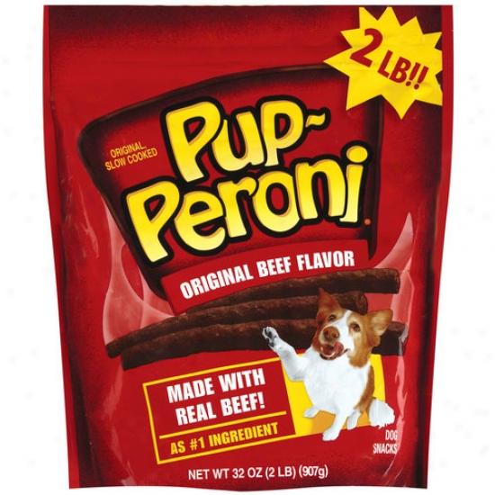 Pup-peroni Original Beef-flavor Dog Snacks, 32 Oz