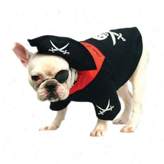 Puppe Love Pirate Dog Costume
