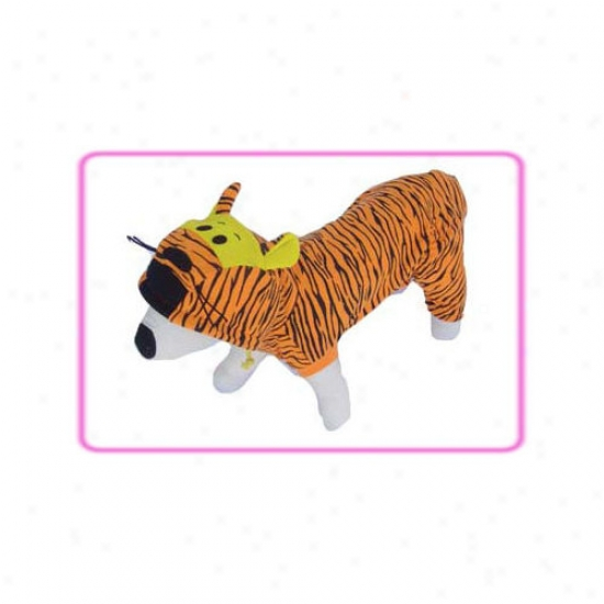 Puppe Love Tiger Dog Costume