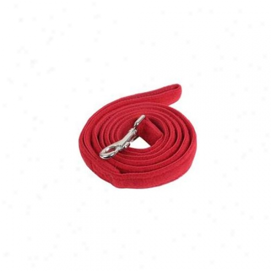 Puppia Pua673remd Lead - Santa Red - Medium