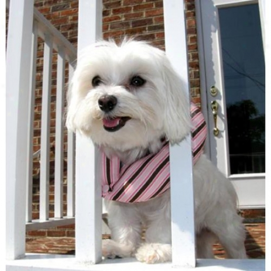 Puppy Bumpers Pnkstrpp1013 Pink Stripe Puppy Bumper 10 To 13in