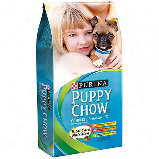 Pup Chow Complete Blend Purina Dry Dog Food, 4.4lb