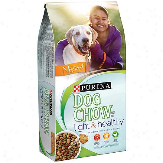 Purina Dog Chow Light &aml; Healthy Adult Dog Food, 32 Lbs