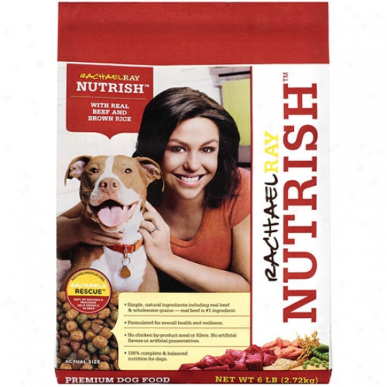 Rachael Ray Nutris hBeef And Rice 6lb