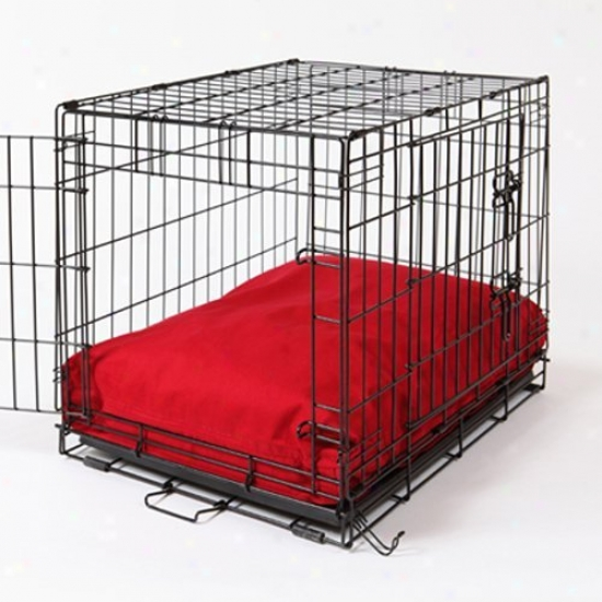 Rectangular Dog Bed Set - Simply Red Crate Covrr
