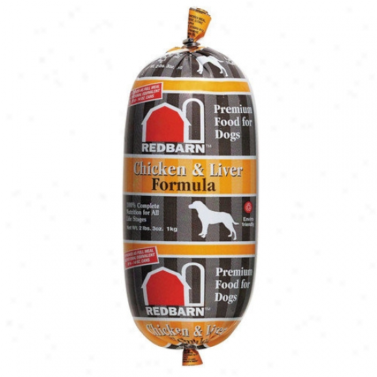Redbarn Pet Produc5s Inc Chicken And Lkver Formula Natural Roll Dry Dog Food