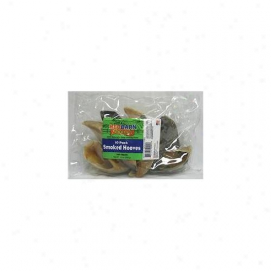 Redbarn Pet Products Inc - Smoked Hooves 10 Pack - 50h101