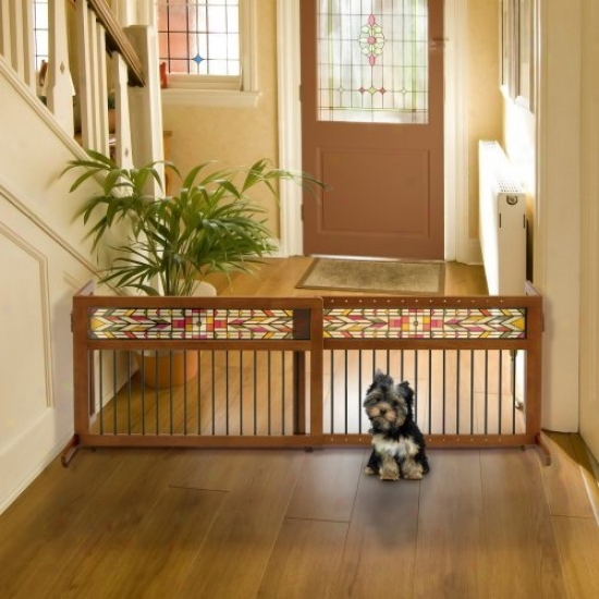 Richell Mission Aztec Frestanding Pet Gate