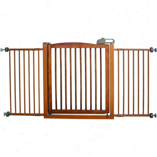 Richell One-touch 150 Pet Gate, Brown