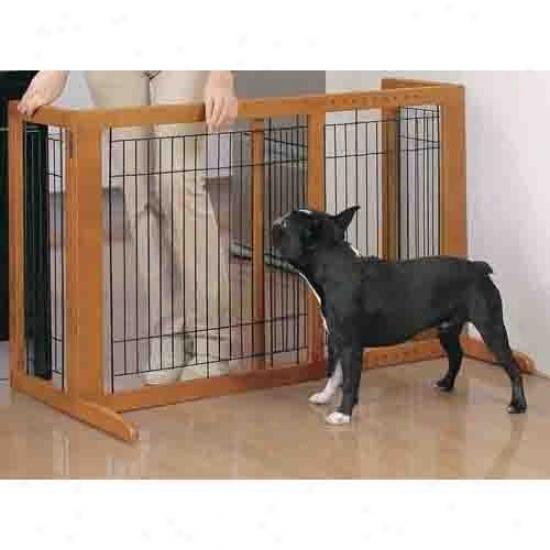 Richell Small Freestanding Pet Gate