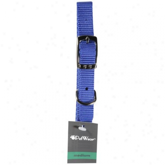 Rose America Corp. Petwear Medium Collar, Blue, 1ct