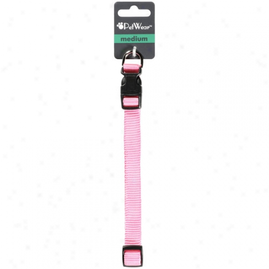 Rose America Corp. Petwear Medium Collar, Pink, 1ct