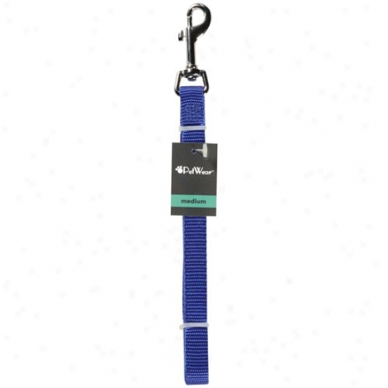 Rose America Corp. Petwear Medium Leash, Blue, 1ct