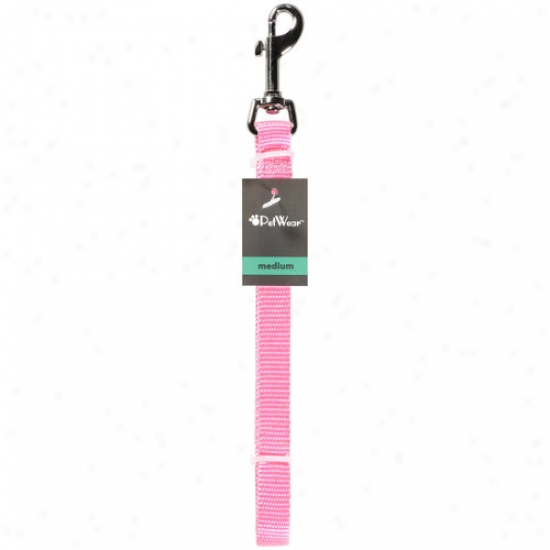 Rose America Corp. Petwear Medium Leash, Pink, 1ct