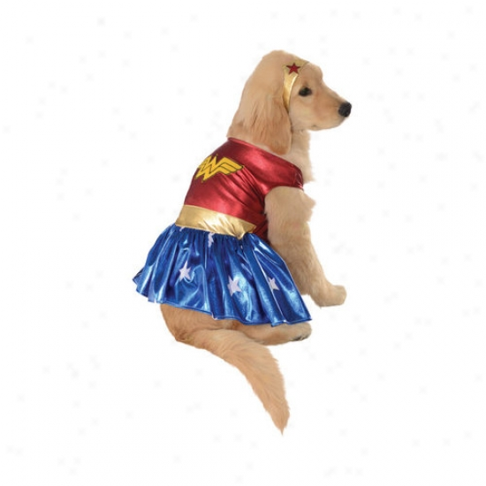 Rubies Wonder Woman Dog Costume