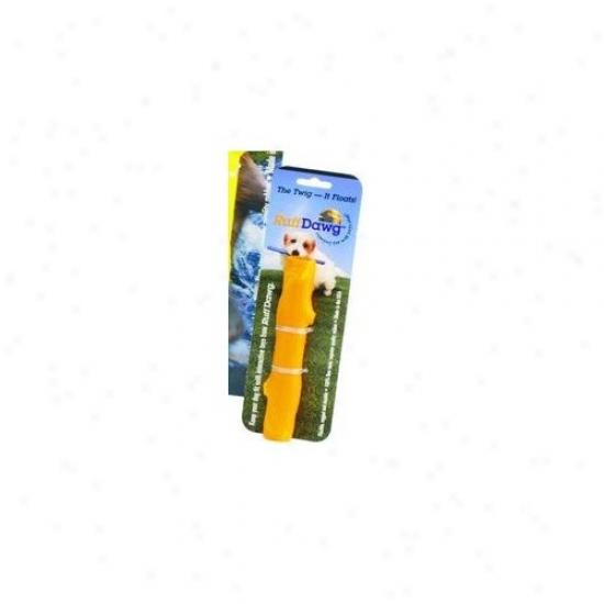 Ruff Dawg Dog Twig Dog Toy In Yellow