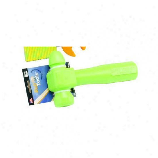 Ruff Dawg Ruff Tools Dog Hammer Dog Toy In Yellow