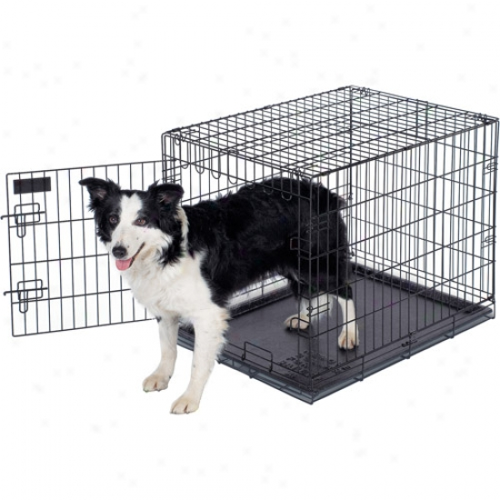 "Ruffmaxx Wire Dog Kennel, 30""lx21""wx24""h"