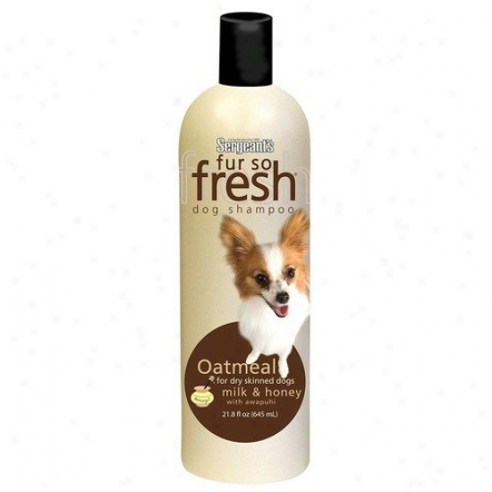 Sergeant's 18 Oz. Fur Sp Fresh Oatmeal Dog Shampoo With Awapuhi
