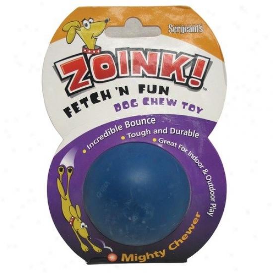 Sergeant's Zoink Fetch N Fun Dog Folly