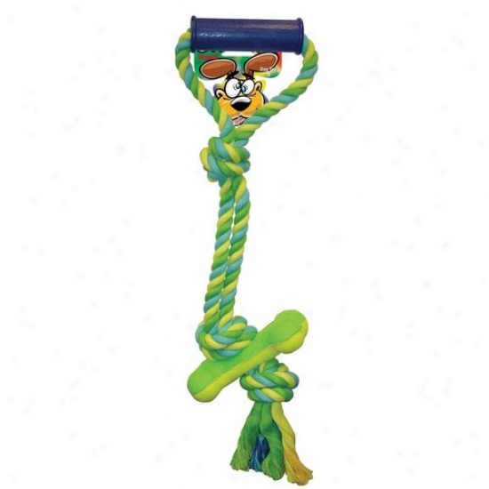Sergeants 49807 Pet Care Products Crazy Paws Pull Tug With Tennis Bone