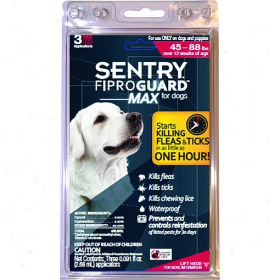 Sergeants Pet 2442 Sentry Fiproguard Max For Dogs